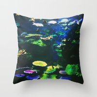 Underwater Paradise Throw Pillow