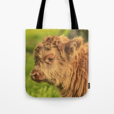 Highland Baby Tote Bag