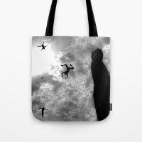Downfall Tote Bag