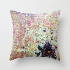 Fly, Fly Away.. Throw Pillow