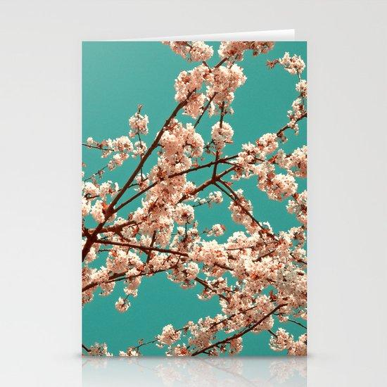 spring tree XVII Stationery Card