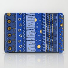 Yzor pattern 010 night iPad Case