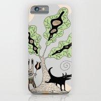 Black Dog And His Rabbit… iPhone 6 Slim Case