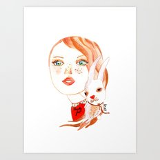 Real Beauty is without Cruelty Art Print