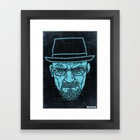 Breaking Bad Poster Framed Art Print