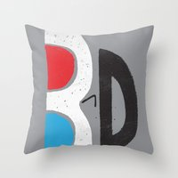 I Like It 3D Throw Pillow