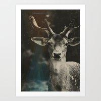 Oh Deer II Art Print