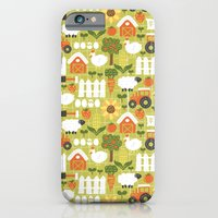 iPhone & iPod Case featuring Let's Farm! by Leanne Oughton