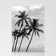 Palm Trees Hawaii Stationery Cards