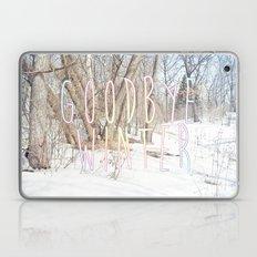 Goodbye Winter Laptop & iPad Skin
