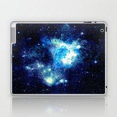 NEbula. Teal Turqouise Blue Aqua Laptop & iPad Skin