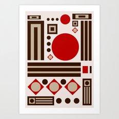 Belgian Chocolate Art Print
