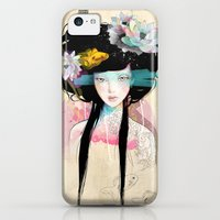 iPhone Cases featuring Nenufar Girl by Ariana Perez