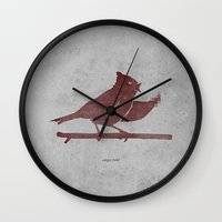 The Bird Is The F-word Wall Clock