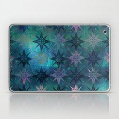 Bohemian Night Skye - Green Laptop & iPad Skin