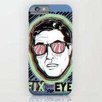 iPhone & iPod Case featuring Fix Your Eyes! by Matthew Jorde
