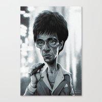 Scarface Canvas Print