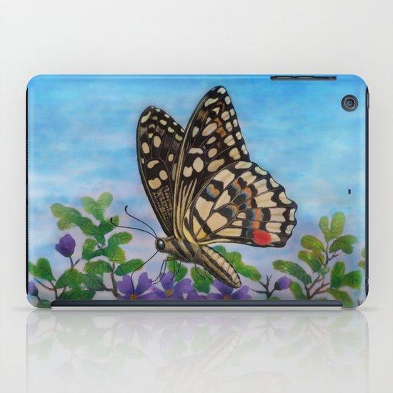 Chequered swallowtail  iPad Case