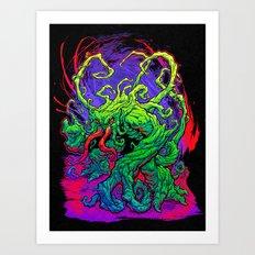RISE, TENDRIL, RISE! Art Print