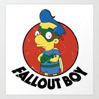 Fallout Boy Art Print