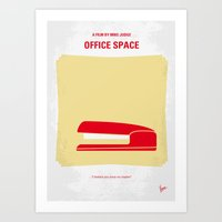 No255 My OFFICE SPACE Mi… Art Print