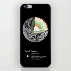 Earth Cream iPhone & iPod Skin