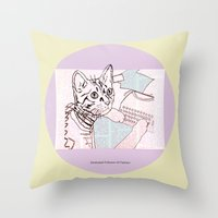 Dedicated Follower Of Fa… Throw Pillow