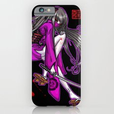 Kenjutsu Calligraphy by Nipponaisuki iPhone 6 Slim Case
