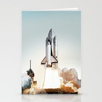 Rocket Launch Stationery Cards