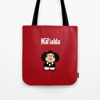 coupling up Mafialda Tote Bag