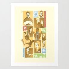 Parks & Rec Art Print