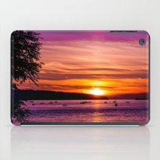 Sunset Over the Beach  iPad Case