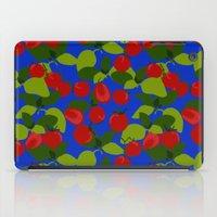Tomato Basil Pattern iPad Case