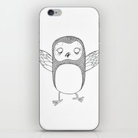 little wings iPhone & iPod Skin