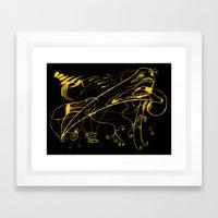 Grito Framed Art Print