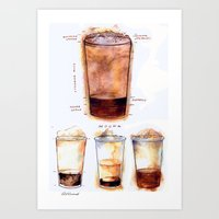 Mocha Art Print