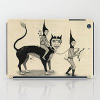 The Capture Of The Beast iPad Case