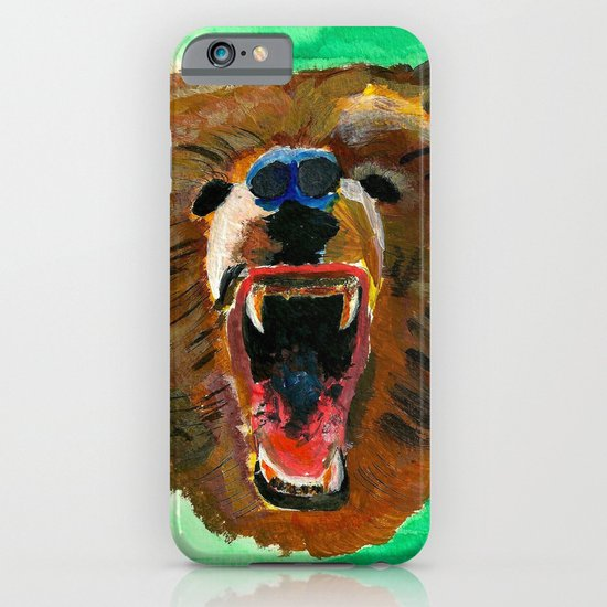 This is a bear iPhone & iPod Case