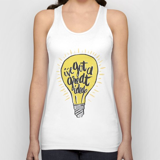 ...good idea. Unisex Tank Top