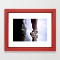 Ballet-Pointe Framed Art Print