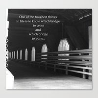 It's Your Choice Canvas Print