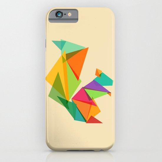 Fractal geometric Squirrel iPhone & iPod Case