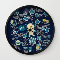 AWESOME BIBI'S GADGETS Wall Clock