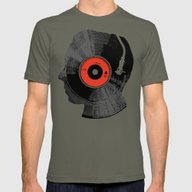 The Song In My Head Mens Fitted Tee Lieutenant SMALL