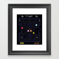 E-MAN Framed Art Print