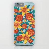 Flowers - Red iPhone 6 Slim Case