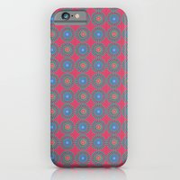 iPhone & iPod Case featuring Spinners Pattern by Peter Gross