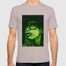 badu?!-green Mens Fitted Tee Cinder SMALL
