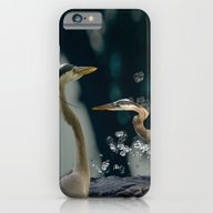 Great Blue Herons iPhone 6 Slim Case