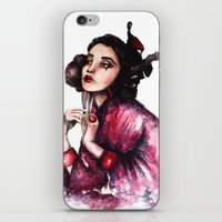 Geisha Girl // Fashion I… iPhone & iPod Skin